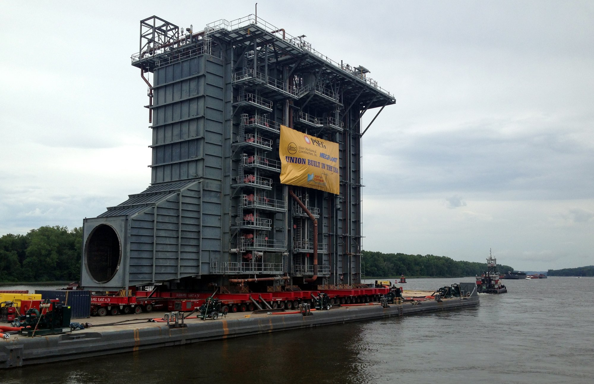 Jms Provides Engineering For Barge Transport Of 125 Foot